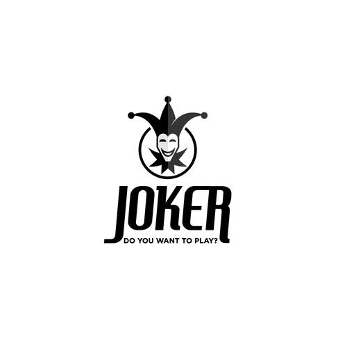 Logo for coffeshop called Joker