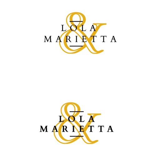 Create the logo of the fashion brand in the market Lola & Marietta !