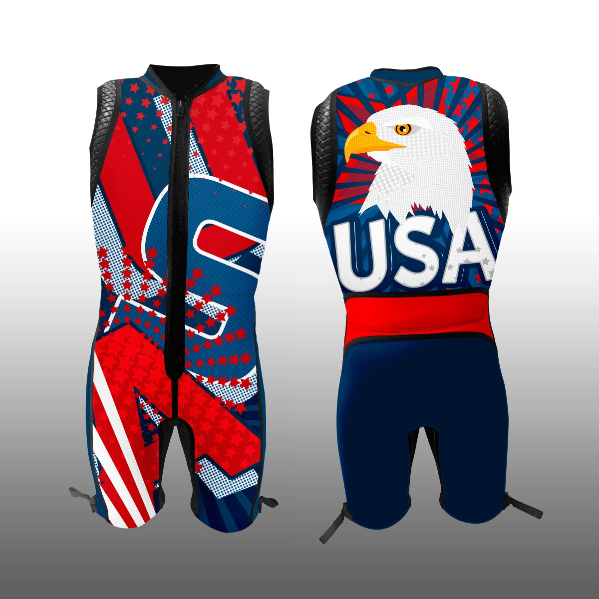 Design a Wetsuit for the 2018 USA Team