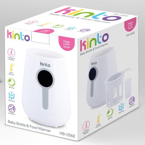 Baby Warmer Color Box design