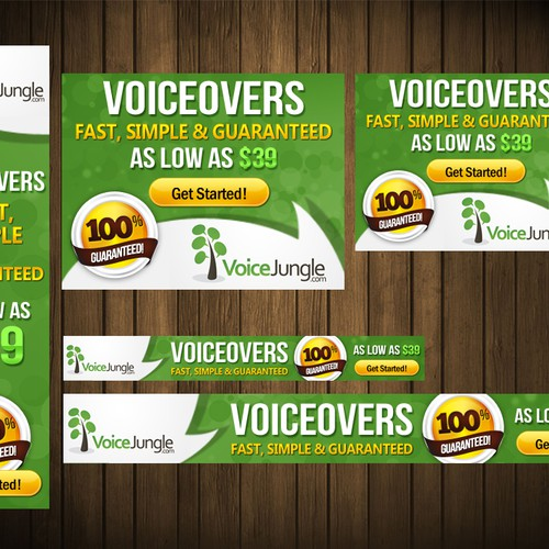 Help VoiceJungle.com with a new banner ad