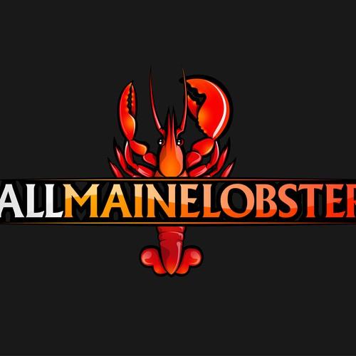 Logo design for AllMaineLobster.com