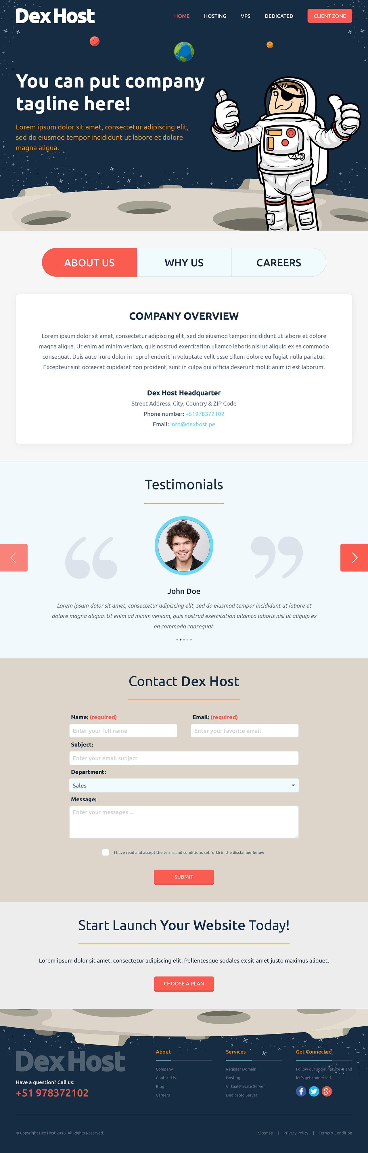 Web Hosting DexHost
