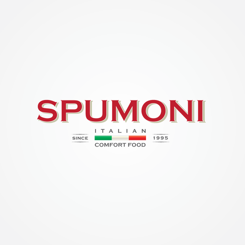 SPUMONI Winner Logo Design