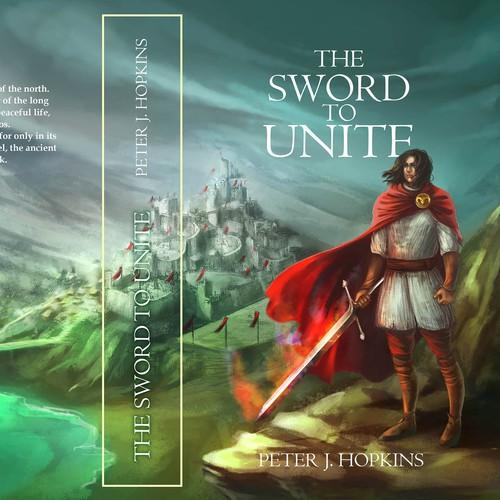 the sword to unite book cover concept