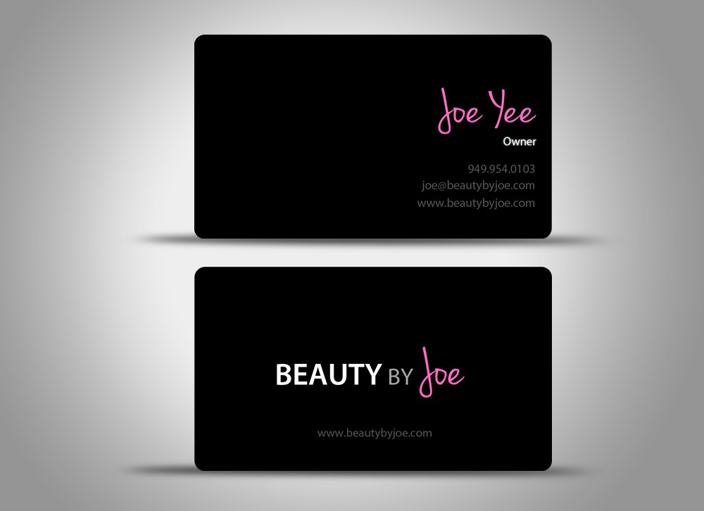 Create the next stationery for Beauty by Joe