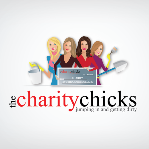 Help The Charity Chicks with a new logo