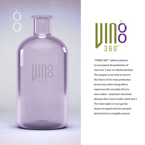vinoo 360 wine logo THIS DESIGN IS AVAILABLE