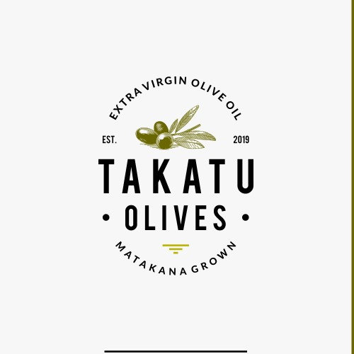 Minimalist and exclusive brand design for boutique olive oil