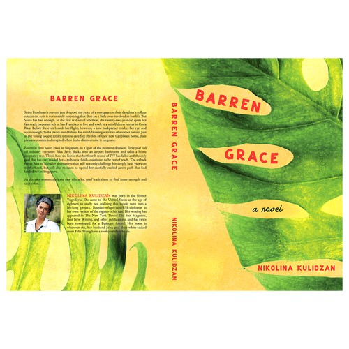 "Book cover for ""Barren Grace"""