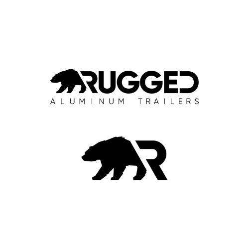 Tough, outdoor-oriented logo that avoids cliches
