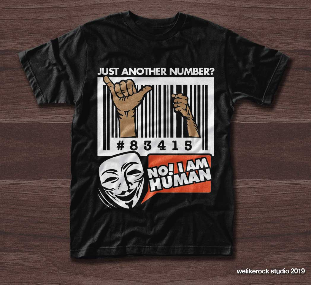 Create a Powerful t-shirt design for a Human Rights campaign!