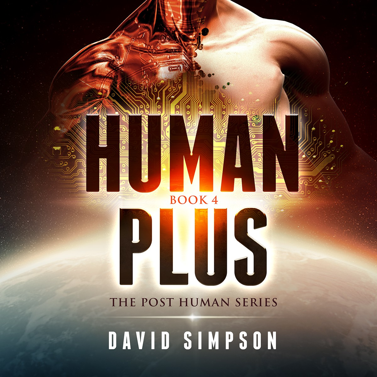 Book Cover Design - Sci-Fi Human/technology integration / Artificial Intelligence story