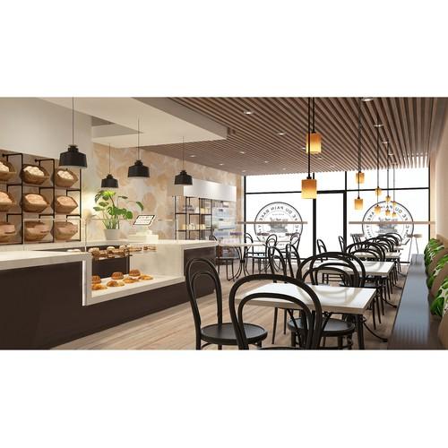 Cafe & Bakery Interior Design
