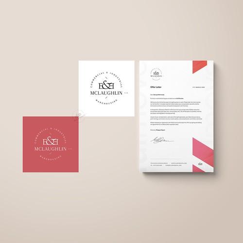 Branding Design for E&E McLaughlin