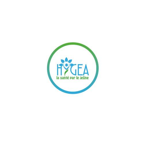 Logo pour un centre de santé naturelle par le jeûne.