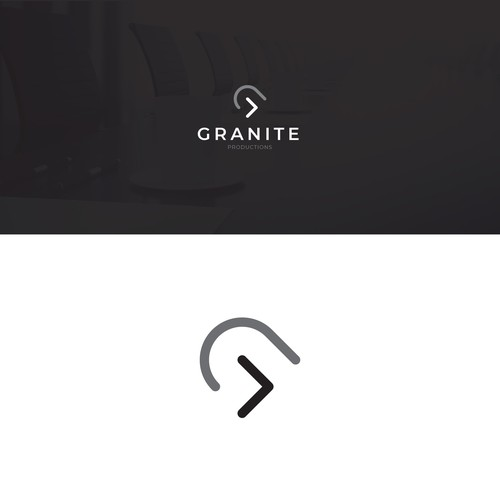 Minimal Logo Design for Granite Productions