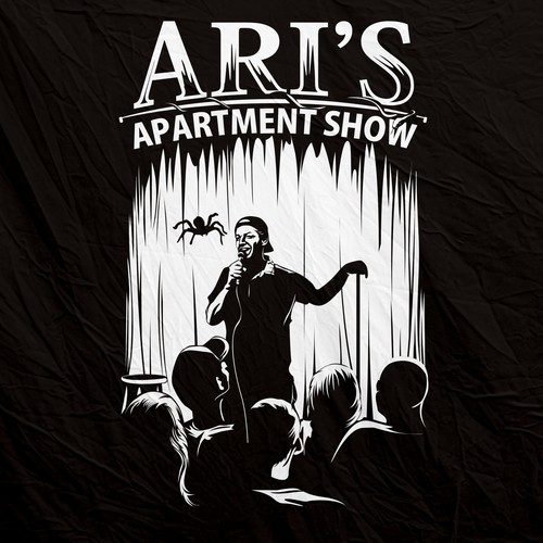 Design a T-Shirt for a unique Apartment Comedy Show