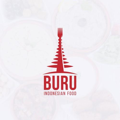 Logo for BURU.