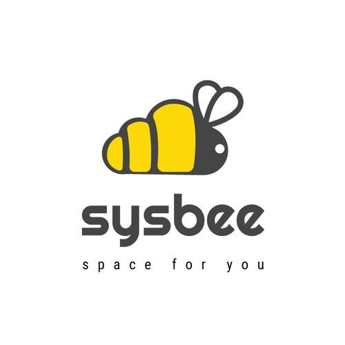 sysbee logo design