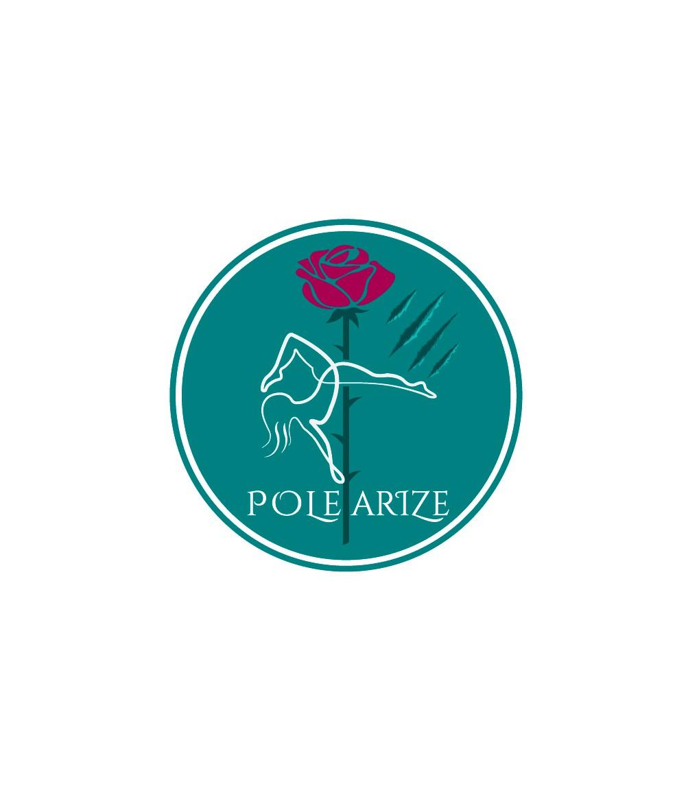 Stylish logo with abstract beauty & beast theme