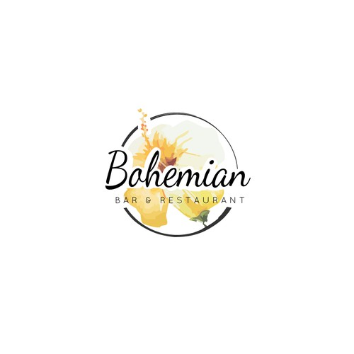Logo concept for Bohemian Bar
