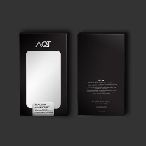 AQT case packaging design