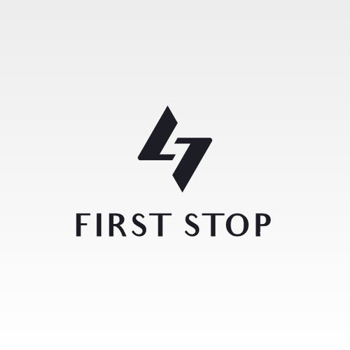 Monogram logo for FIRST STOP (Womens & Mens Outerwear)