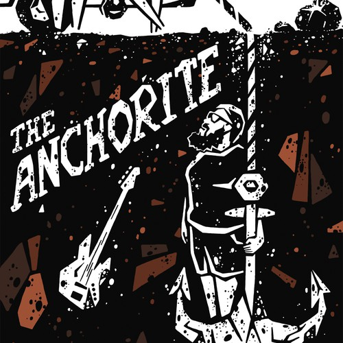 """Poster for indie movie """"The Anchorite"""""""