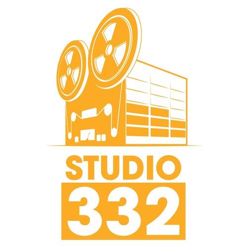 Studio 332 logo design