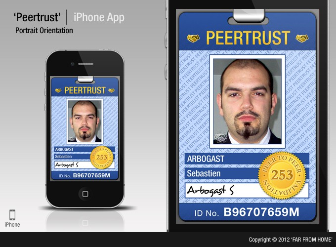 Help PeerTrust with a new mobile app design