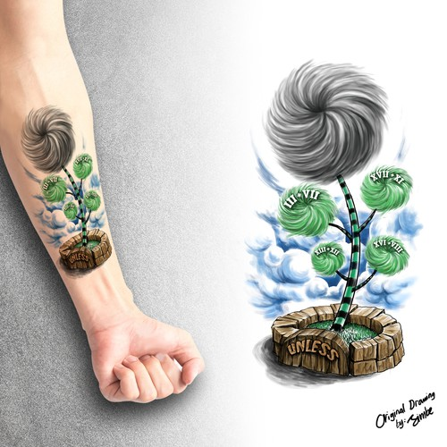 Tattoo Family tree