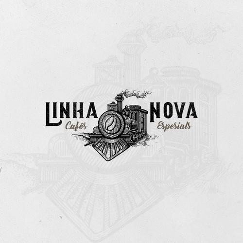 Vintage Logo for Linha Nova