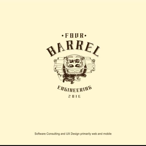 4 Barrel Logo