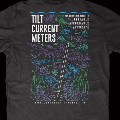 Sea elements tshirt