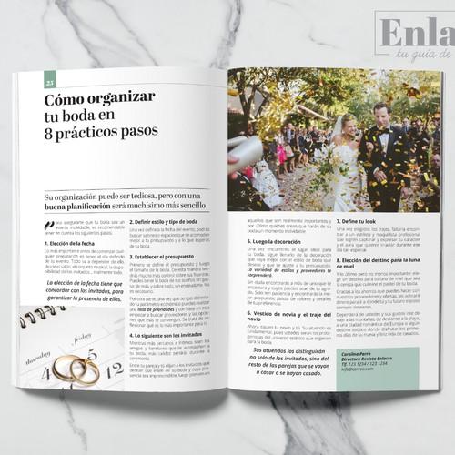Wedding Magazine Brand Design