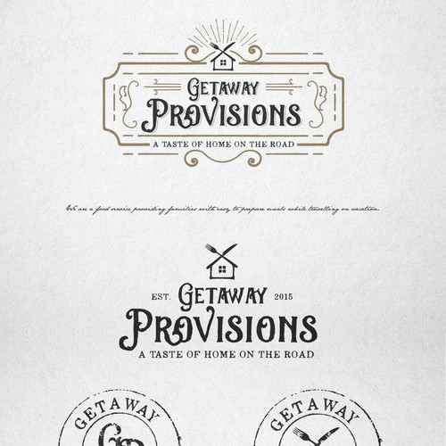 Logo design for Getaway Provisions