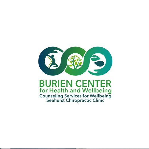 Powerful logo for Burien Center for Health and Wellbeing
