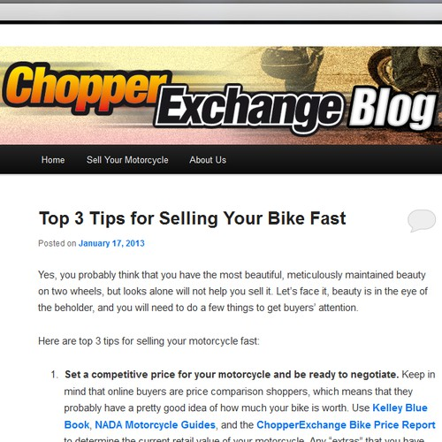 banner ad for ChopperExchange.com
