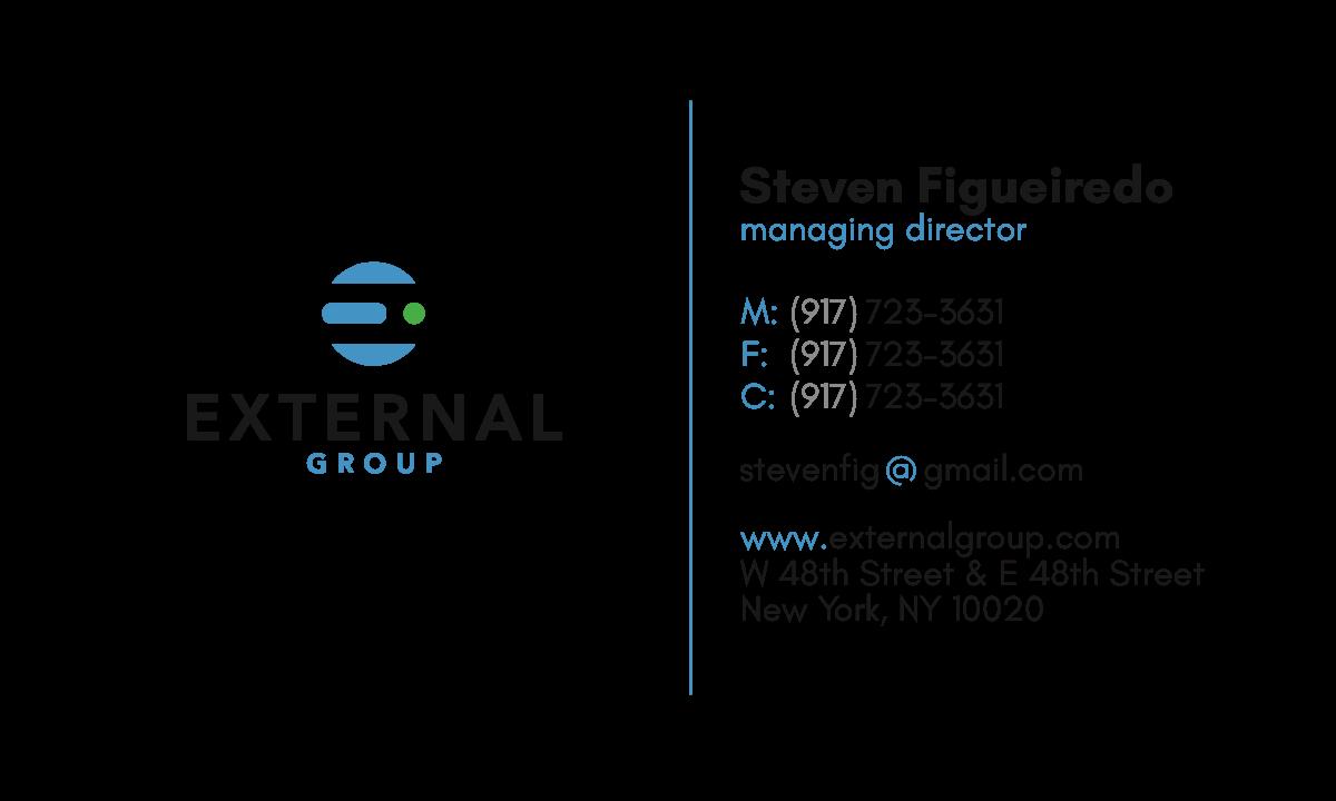 External Group card & letterhead