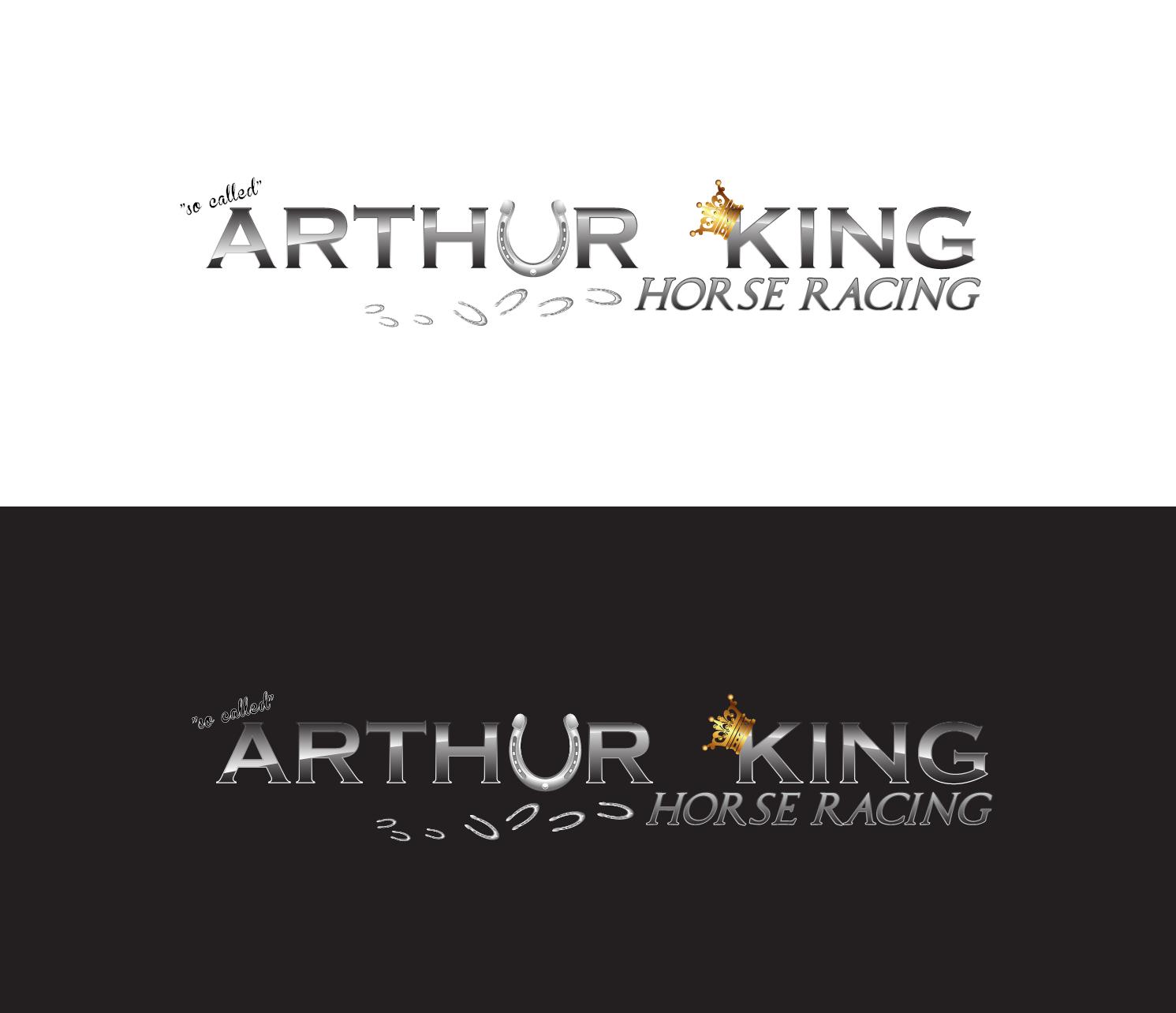 Horse racing logo