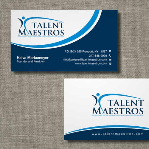 Create logo, business card, and web site for Talent Maestros!