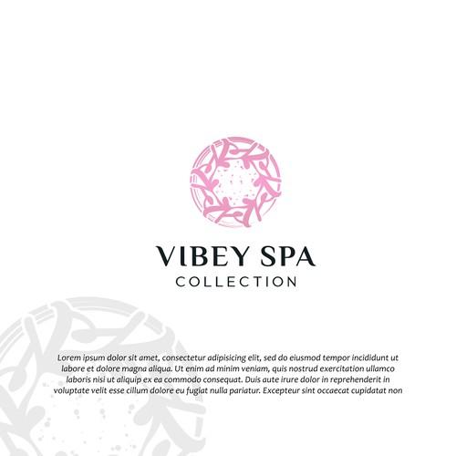 Vibey Spa design logo contest