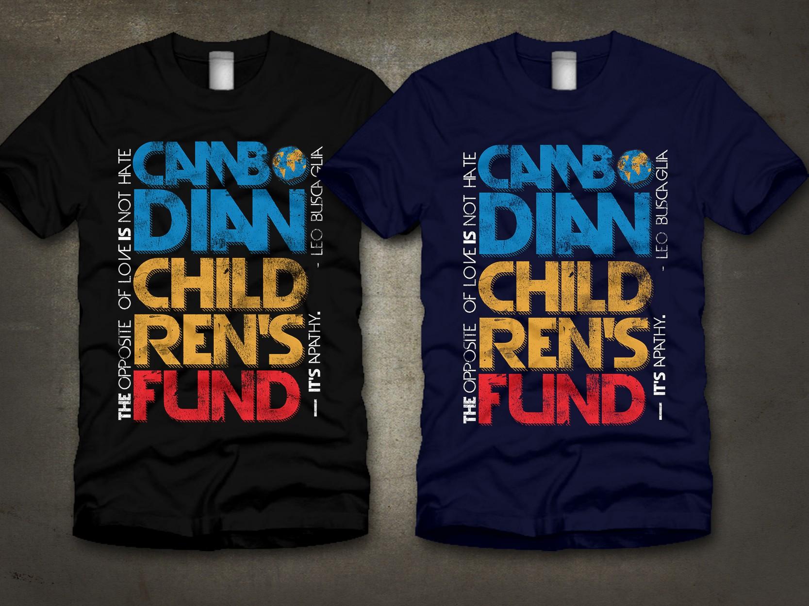 DESIGN FOR GOOD! International charity needs a t-shirt