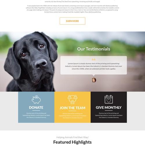 Saving Snoots Animal Rescue WordPress Contest!