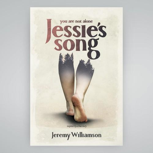 Bold, poetic book cover design