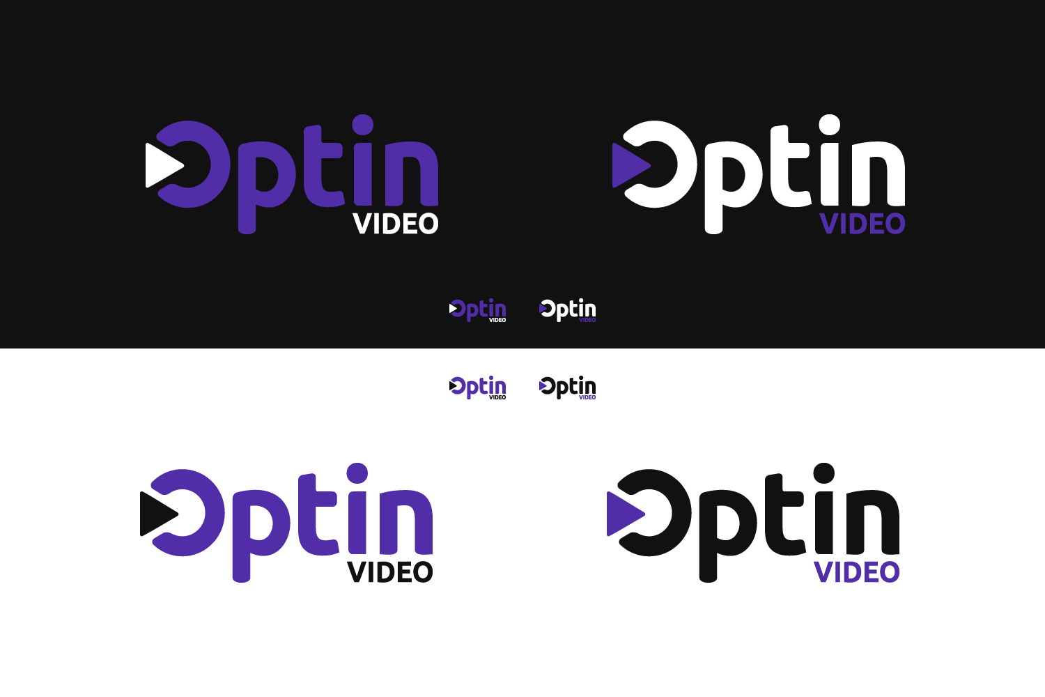 Clean logo design for video marketing business