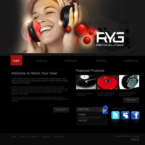 LOOK!!!! WEBSITE FOR COMPANY CALLED REMIX YOUR GEAR.COM