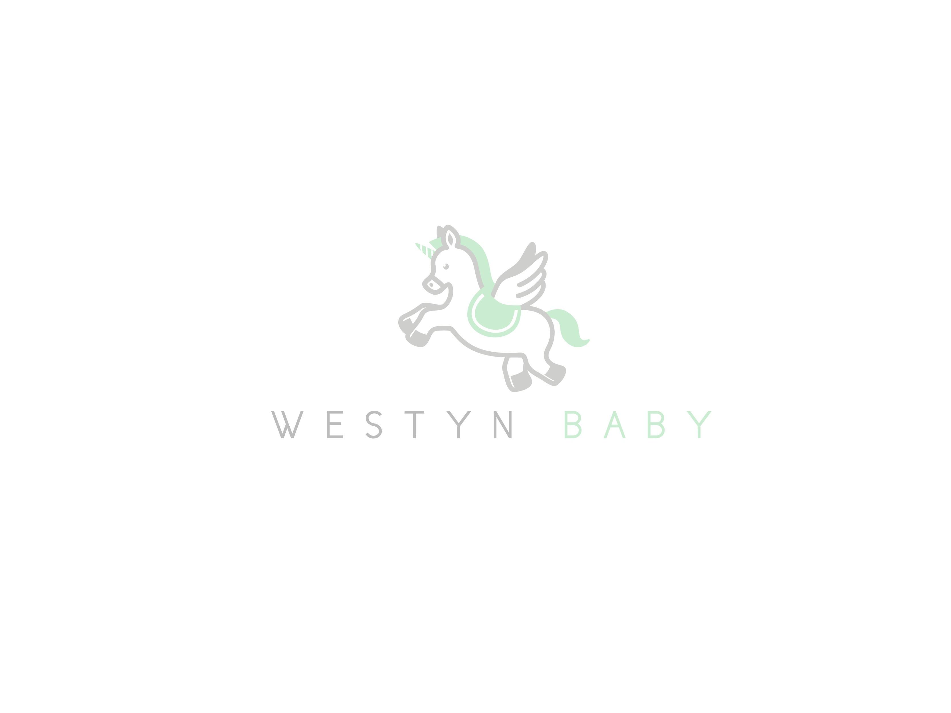 Logo design for luxury baby clothing brand, Westyn Baby!