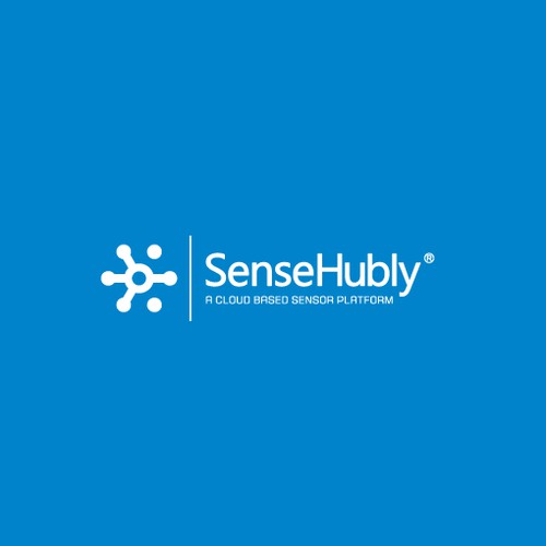 Logo design for SenseHubly